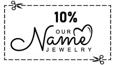 קופון Our name jewelry